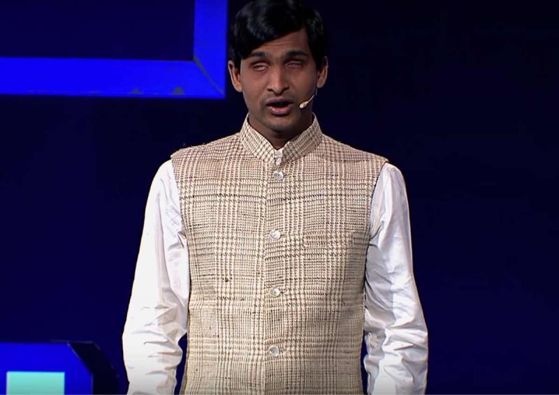Biography of Blind entrepreneur shrikant bolla